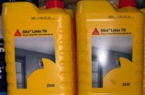 Phụ gia chống thấm và tác nhân kết nối Sika Latex TH 25L